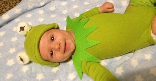 Best ideas about Kermit The Frog Costume DIY . Save or Pin Kermit the Frog Baby Costume Now.