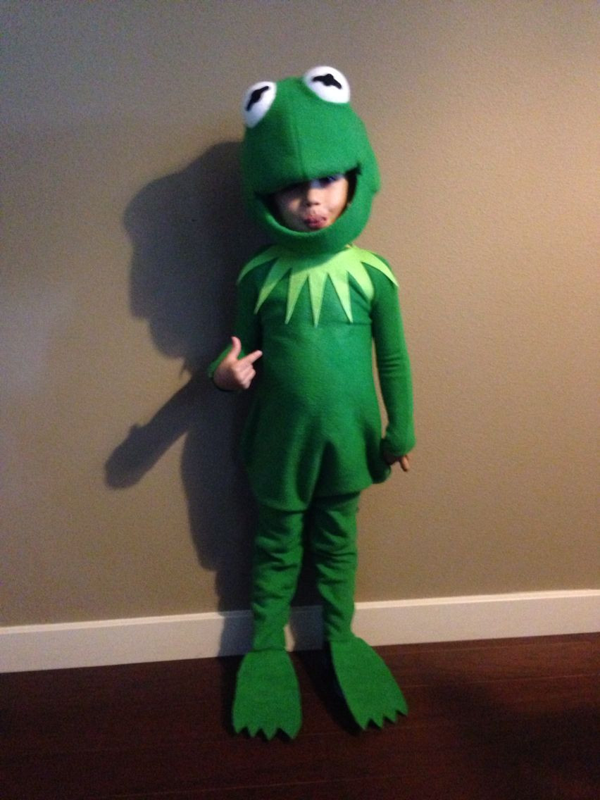 Best ideas about Kermit The Frog Costume DIY . Save or Pin Kermit the Frog costume Izzy in 2019 Now.