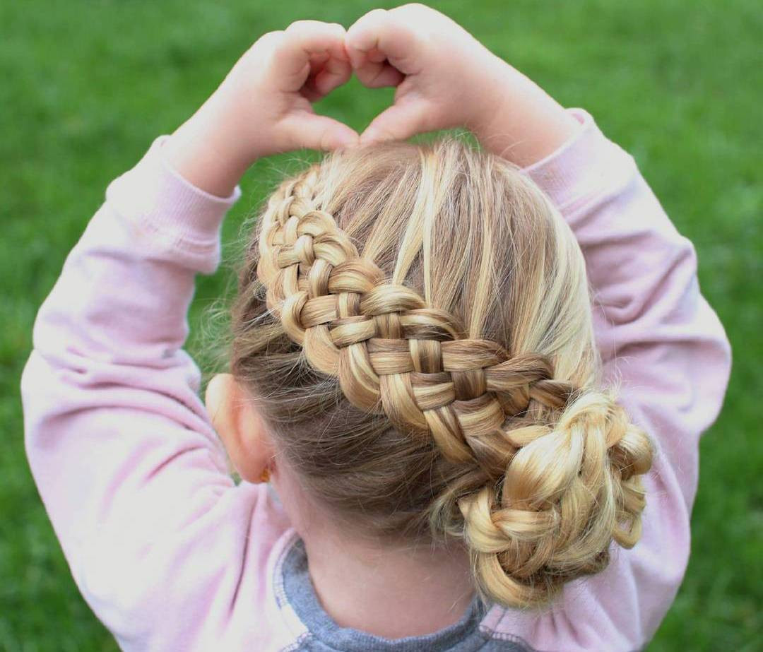 Best ideas about Kid Hairstyles Girls . Save or Pin 40 Pretty Fun And Funky Braids Hairstyles For Kids Now.