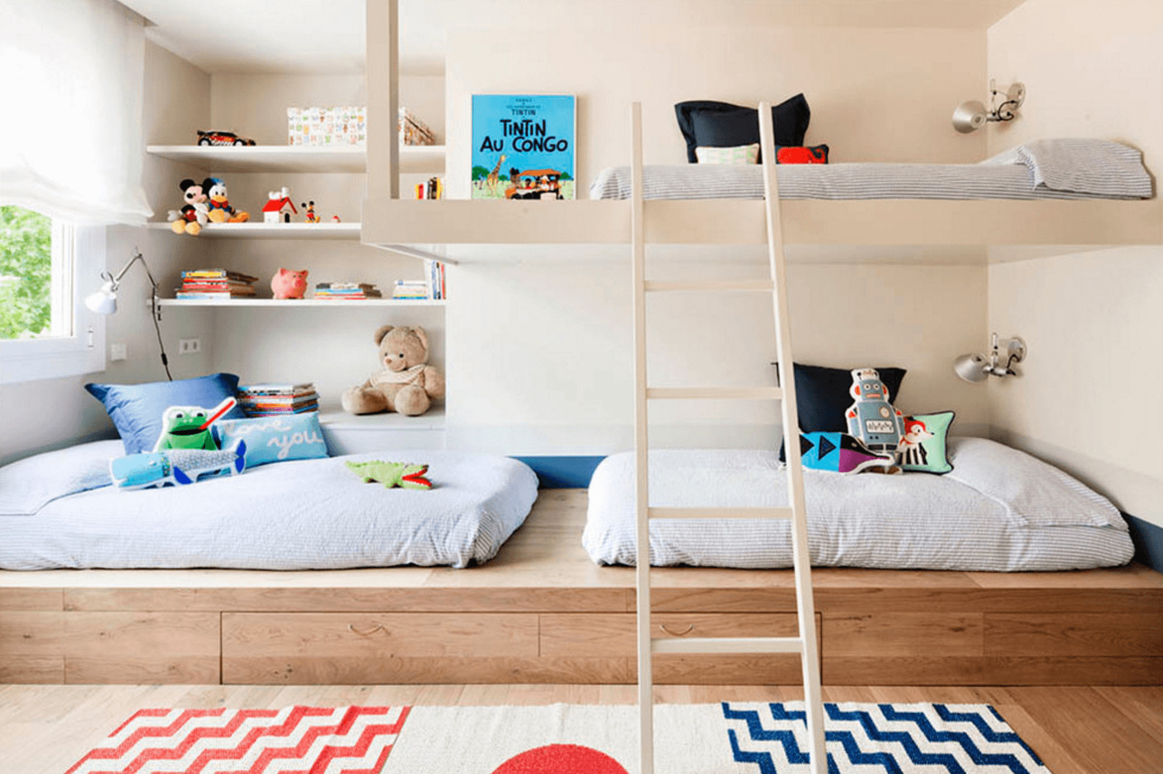 Best ideas about Kids Bedroom Ideas . Save or Pin Creative d Bedroom Ideas for a Modern Kids Room Now.