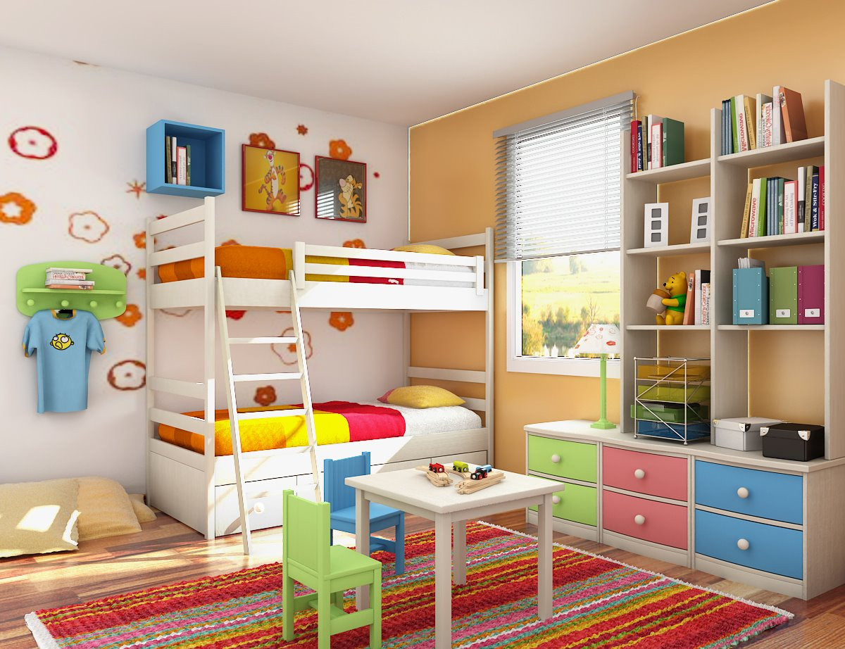 Best ideas about Kids Bedroom Ideas . Save or Pin Kids Room Designs and Children s Study Rooms Now.