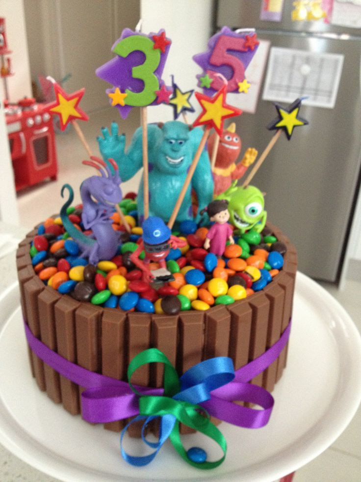 Best ideas about Kids Birthday Cake . Save or Pin Monsters Inc Birthday cake for the kids so easy & just Now.