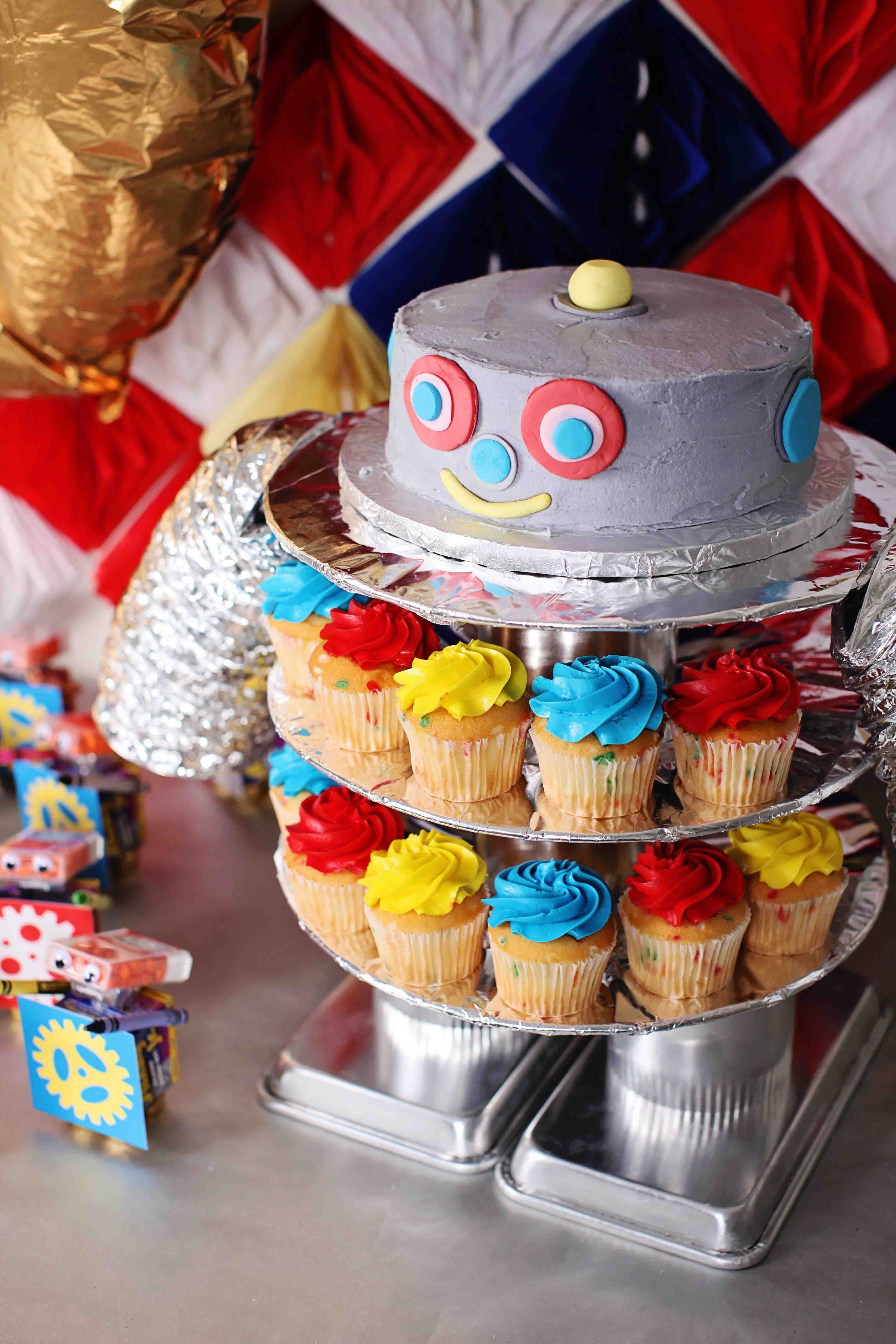 Best ideas about Kids Birthday Ideas . Save or Pin Boy s Birthday Party Ideas Robot Birthday Now.