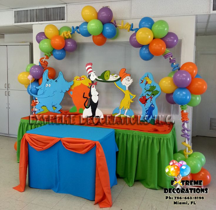 Best ideas about Kids Birthday Party Decorations . Save or Pin Dr Seuss Party Theme Ideas Now.