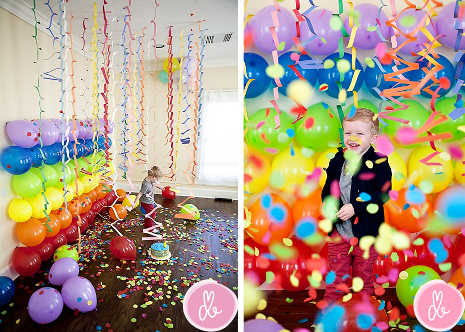 Best ideas about Kids Birthday Party Decorations . Save or Pin How To Decorate Birthday Party At Home Kids Art Now.