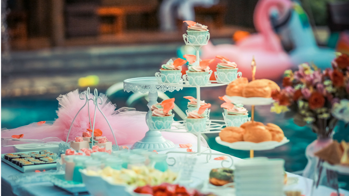 Best ideas about Kids Birthday Party Decorations . Save or Pin How To Decorate Your Kids Birthday Party Candy Buffet AW2K Now.