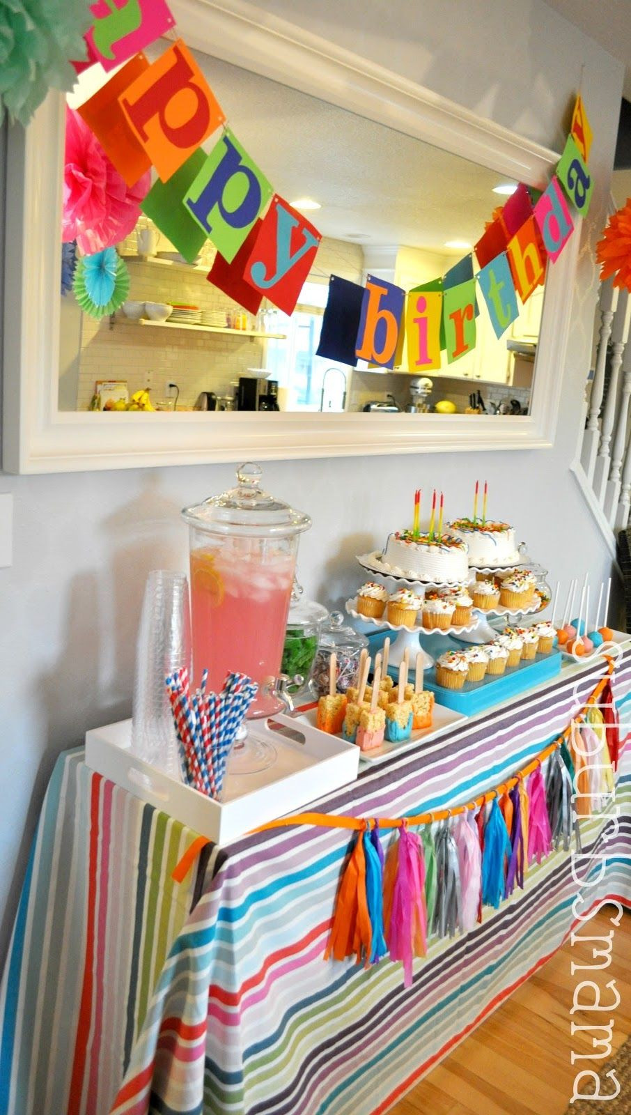 Best ideas about Kids Birthday Party Decorations . Save or Pin Suburbs Mama darling kids birthday party ideas Now.