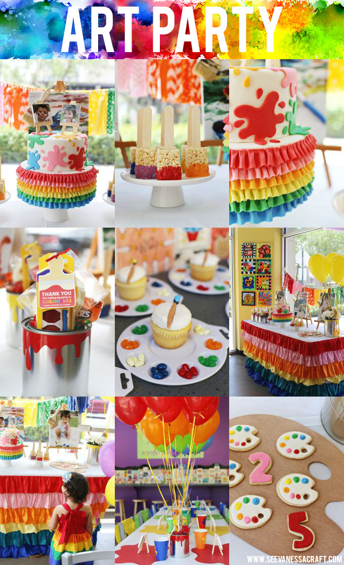 Best ideas about Kids Birthday Party Decorations . Save or Pin 25 Fun Birthday Party Theme Ideas – Fun Squared Now.