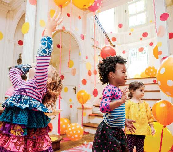 Best ideas about Kids Birthday Party Decorations . Save or Pin More Circle Party Ideas Now.