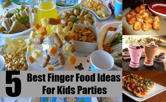 Best ideas about Kids Birthday Party Finger Food Ideas . Save or Pin 5 Best Finger Food Ideas For Kids Parties How To Plan Now.