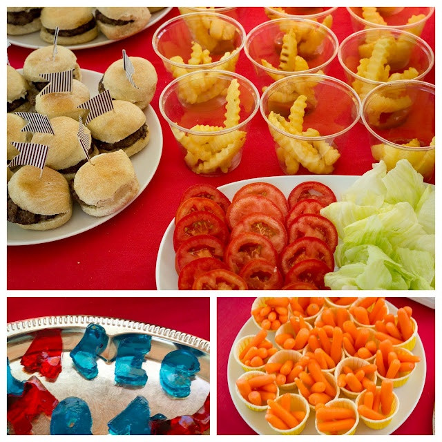 Best ideas about Kids Birthday Party Finger Food Ideas . Save or Pin A is for Alec ABC 1st Birthday Now.