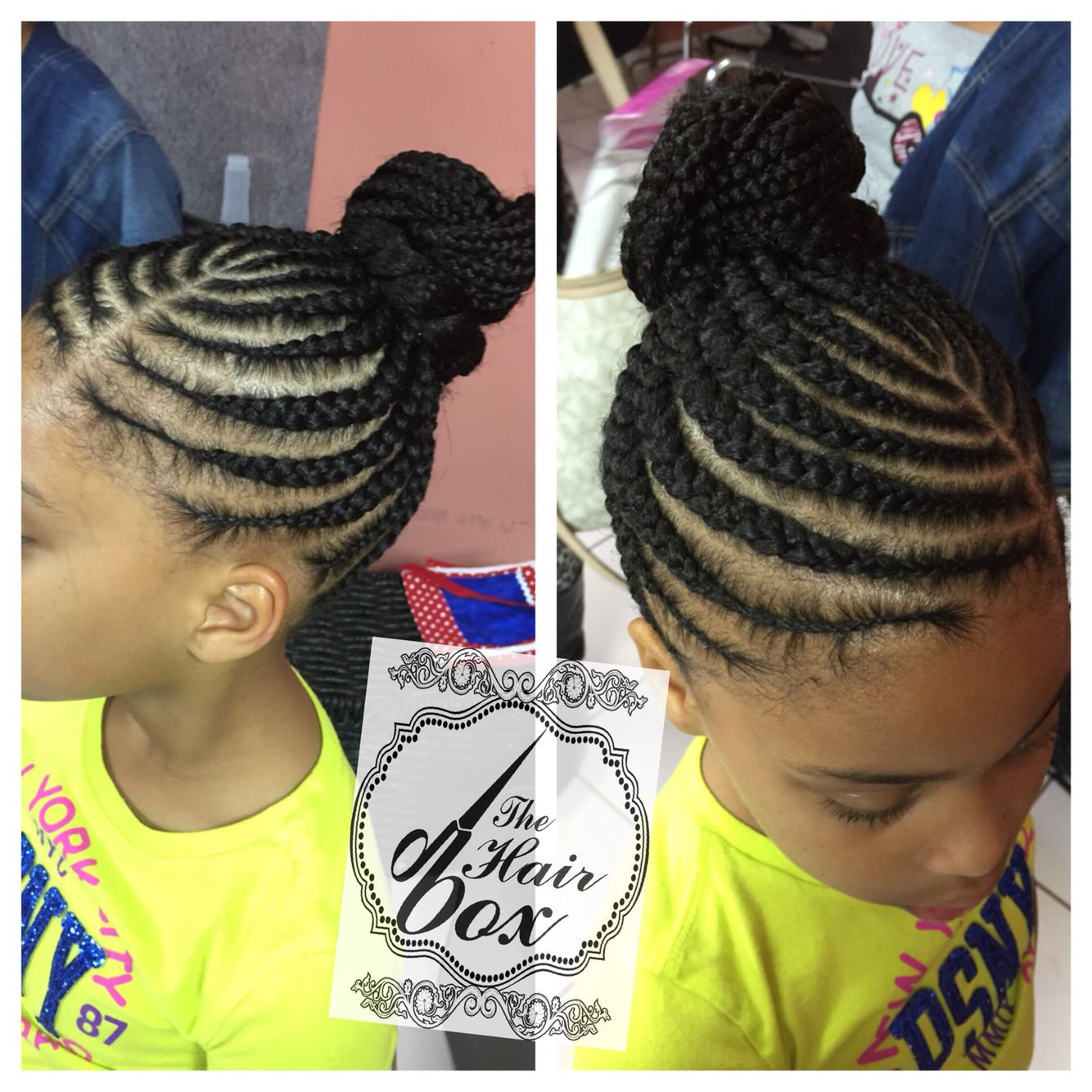 Best ideas about Kids Corn Braids Hairstyles . Save or Pin Kids braids Braids Pinterest Now.