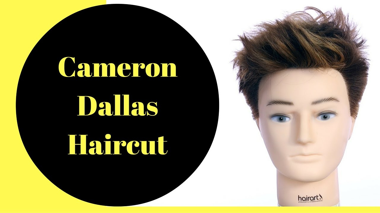 Best ideas about Kids Haircuts Dallas . Save or Pin Cameron Dallas Haircut & Color TheSalonGuy Now.
