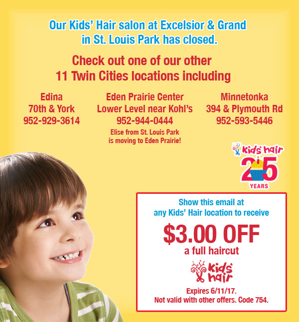 Best ideas about Kids Haircuts Eden Prairie . Save or Pin St Louis Park Now.