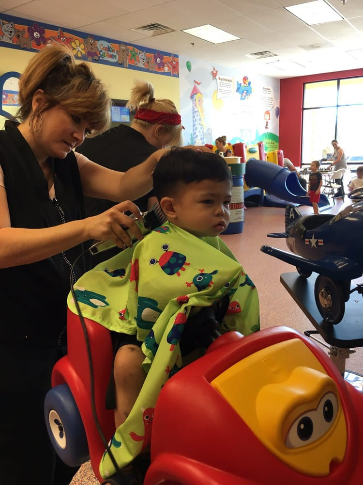 Best ideas about Kids Haircuts Las Vegas . Save or Pin Jennifer doing her magic on our 18 month old Yelp Now.