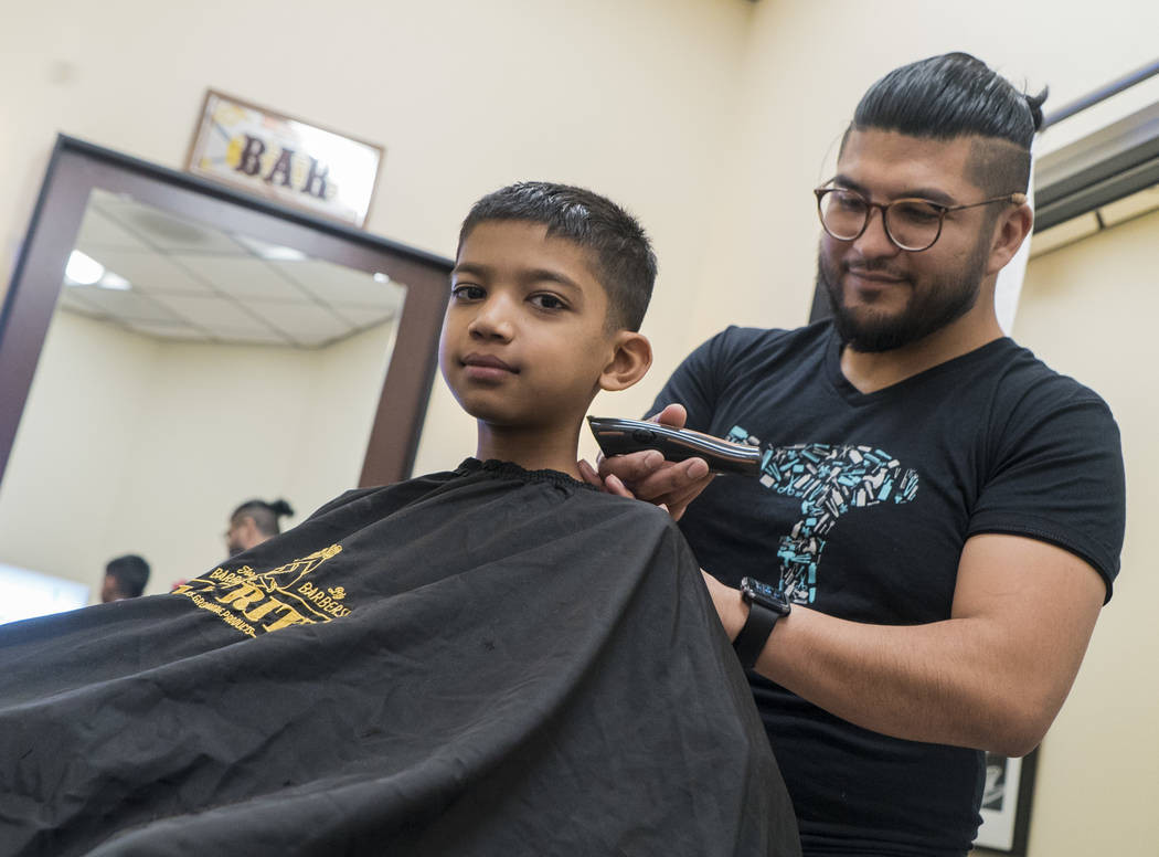 Best ideas about Kids Haircuts Las Vegas . Save or Pin Haircuts smiles and help for Las Vegas students — PHOTOS Now.