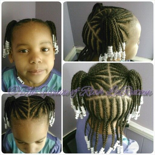 Best ideas about Kids Hairstyles With Beads . Save or Pin 34 best images about CORNROWS WITH BEADS on Pinterest Now.
