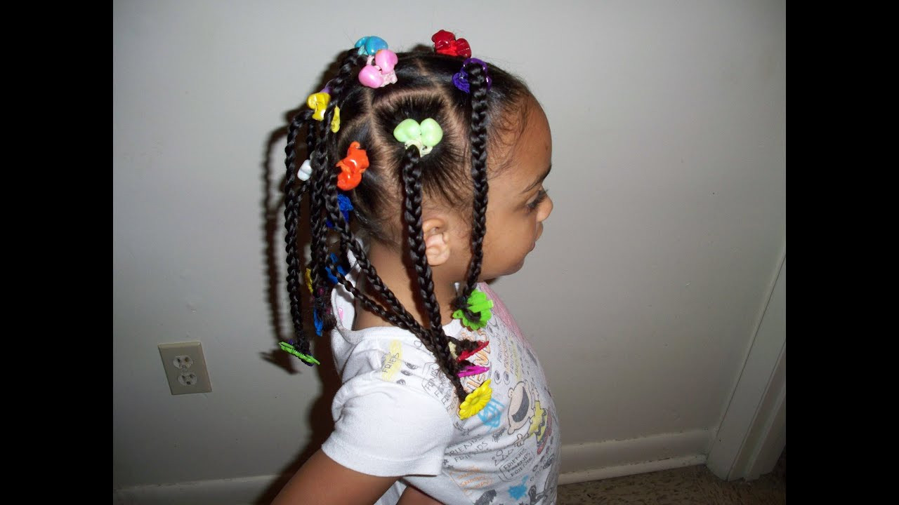 Best ideas about Kids Hairstyles With Beads . Save or Pin Girls Hair TV Cute Kids Hairstyles Braids Ponytails Now.