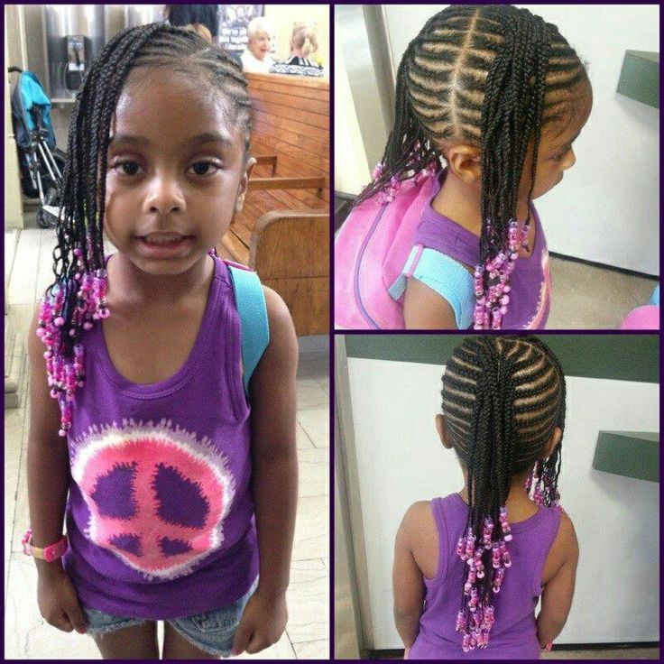 Best ideas about Kids Hairstyles With Beads . Save or Pin Toddler Braided Hairstyles With Beads For Black Kids Now.