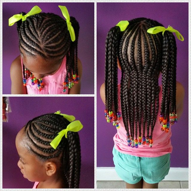 Best ideas about Kids Hairstyles With Beads . Save or Pin 452 best images about Beads Braids & Beyond on Pinterest Now.