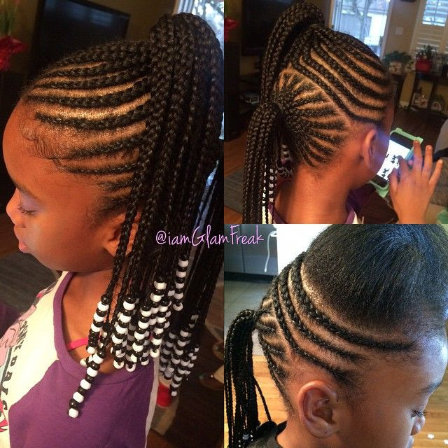 Best ideas about Kids Hairstyles With Beads . Save or Pin 1464 best Little Black Girls Hair images on Pinterest Now.