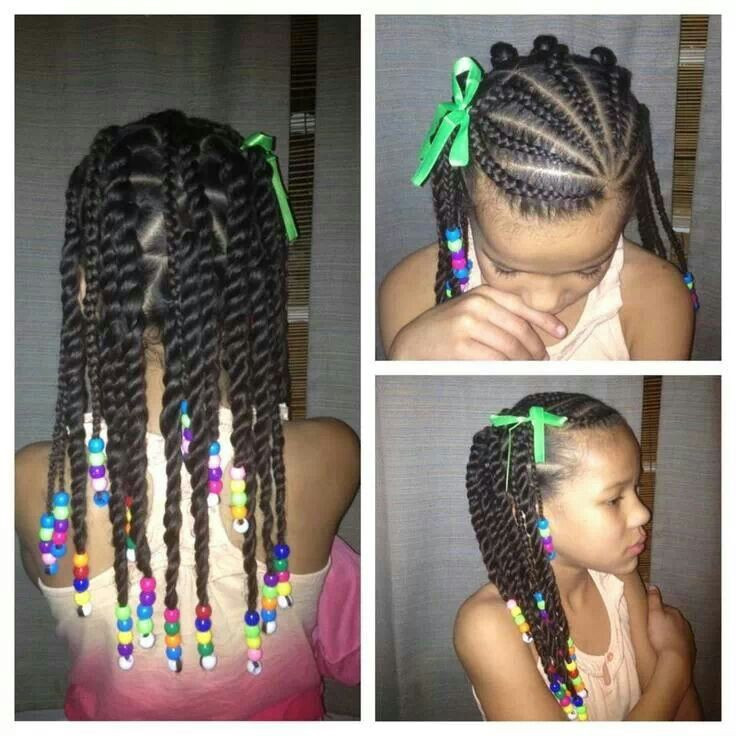 Best ideas about Kids Hairstyles With Beads . Save or Pin Kids braid style Now.