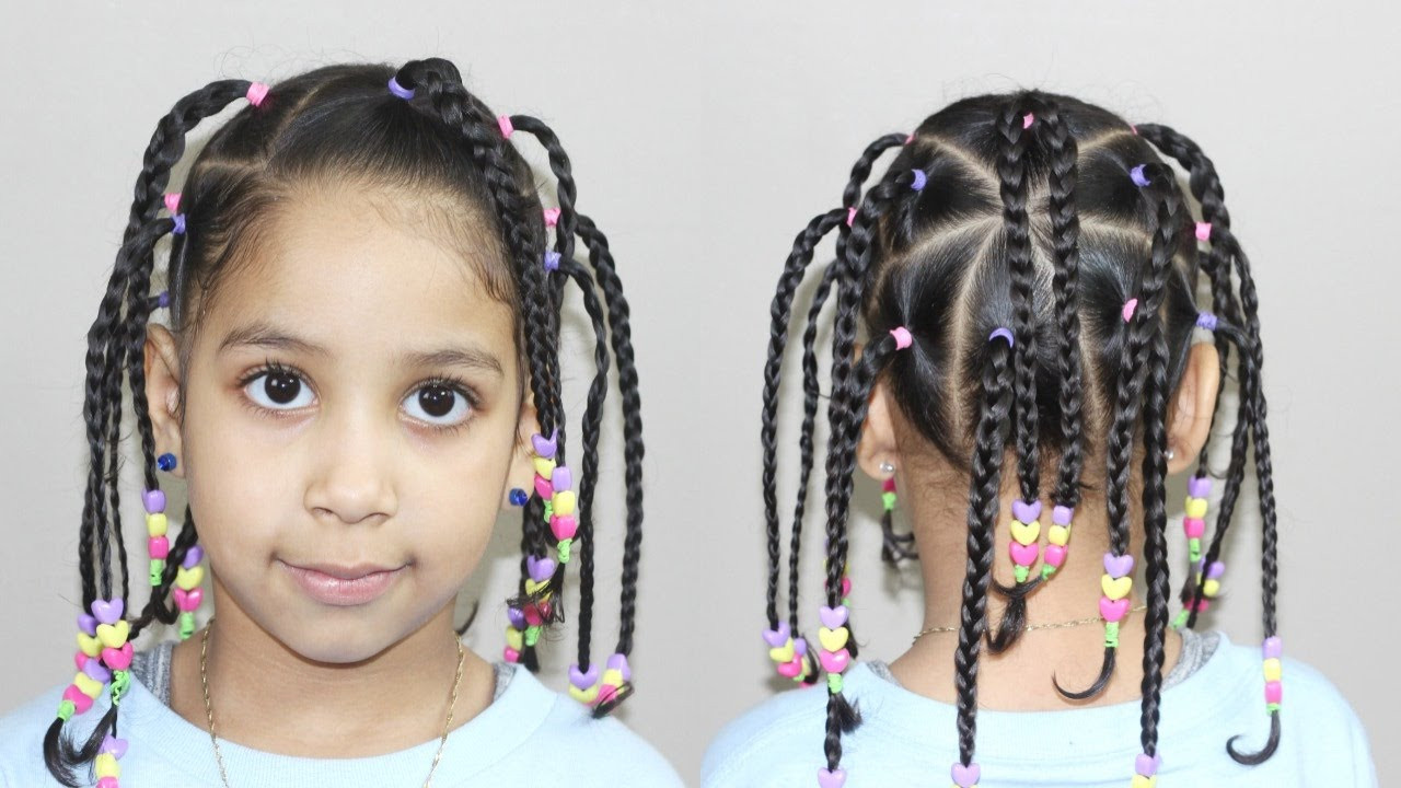 Best ideas about Kids Hairstyles With Beads . Save or Pin Hairstyle with Beads Now.