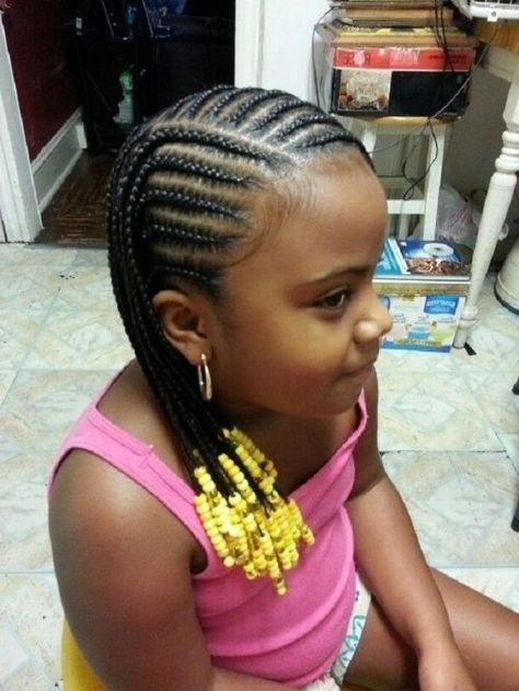 Best ideas about Kids Hairstyles With Beads . Save or Pin little black kids braids hairstyles picture regarding Now.