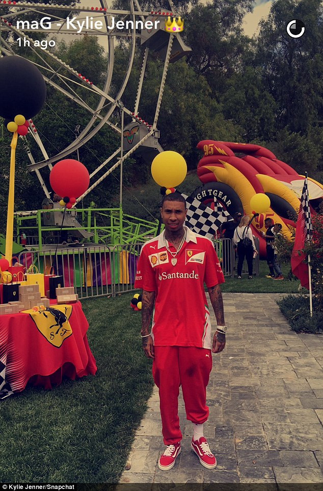 Best ideas about King Cairo Birthday Party . Save or Pin Kylie Jenner and Tyga throw Ferrari themed birthday party Now.