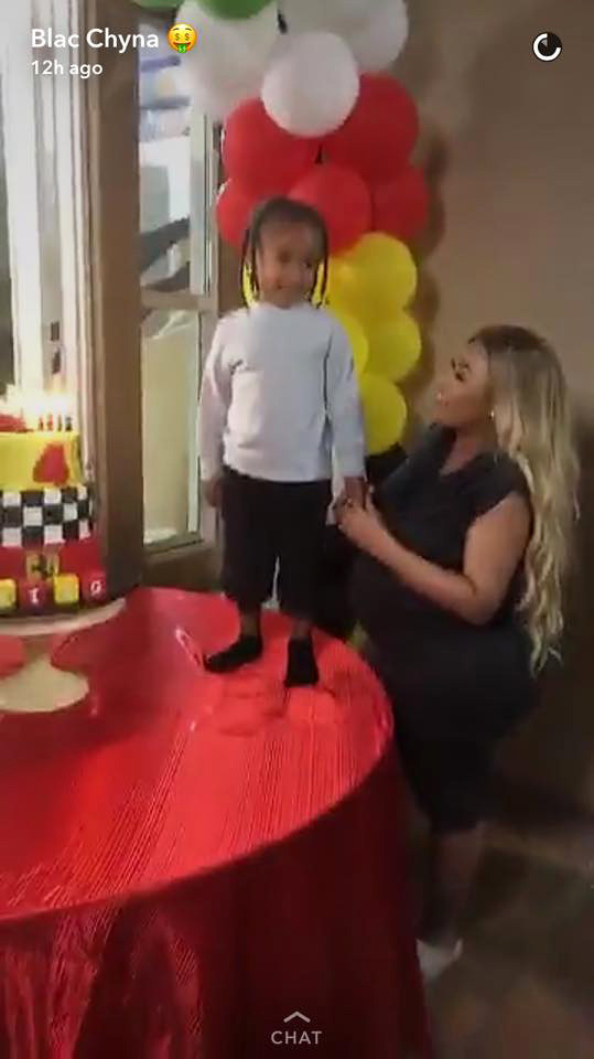 Best ideas about King Cairo Birthday Party . Save or Pin Blac Chyna Celebrates King Cairo s 4th Birthday Party Now.