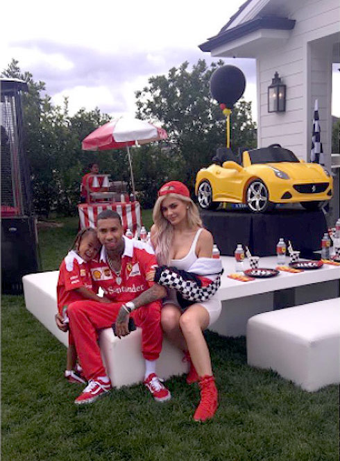 Best ideas about King Cairo Birthday Party . Save or Pin PHOTOS Kylie and Tyga throw King Cairo a Ferrari themed Now.
