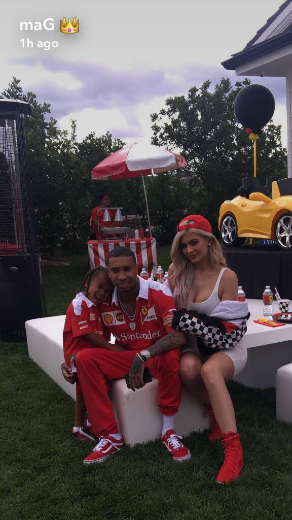 Best ideas about King Cairo Birthday Party . Save or Pin Tyga Throws King Cairo Another Ferrari Themed Birthday Now.