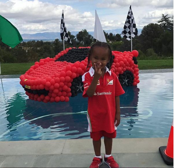 Best ideas about King Cairo Birthday Party . Save or Pin e Happy Family Kylie Jenner & Tyga with King Cairo's Now.