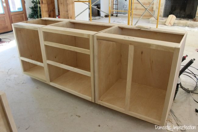 Best ideas about Kitchen Cabinet Plans DIY . Save or Pin Cabinet Beginnings Now.