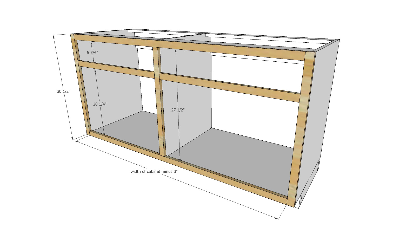 Best ideas about Kitchen Cabinet Plans DIY . Save or Pin Ana White Now.