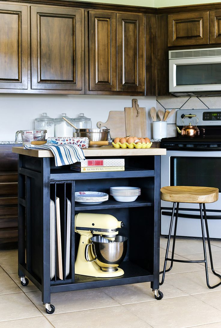 Best ideas about Kitchen Cart DIY . Save or Pin Best 25 Rolling kitchen island ideas on Pinterest Now.