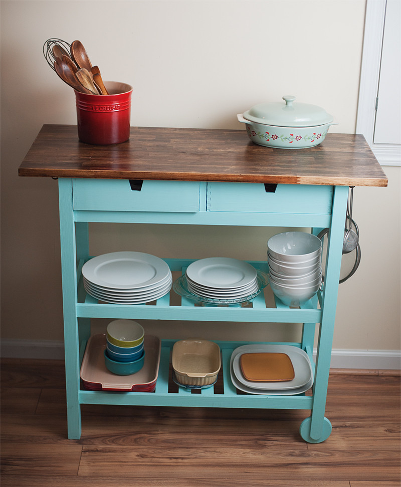 Best ideas about Kitchen Cart DIY . Save or Pin Picture DIY kitchen cart Now.