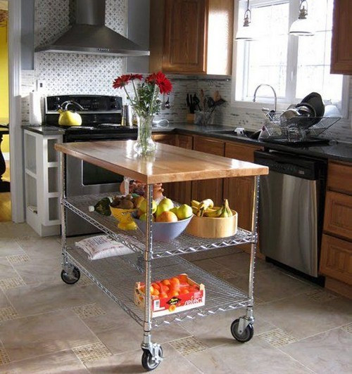 Best ideas about Kitchen Cart DIY . Save or Pin 25 Utility carts in Interior Designs MessageNote Now.
