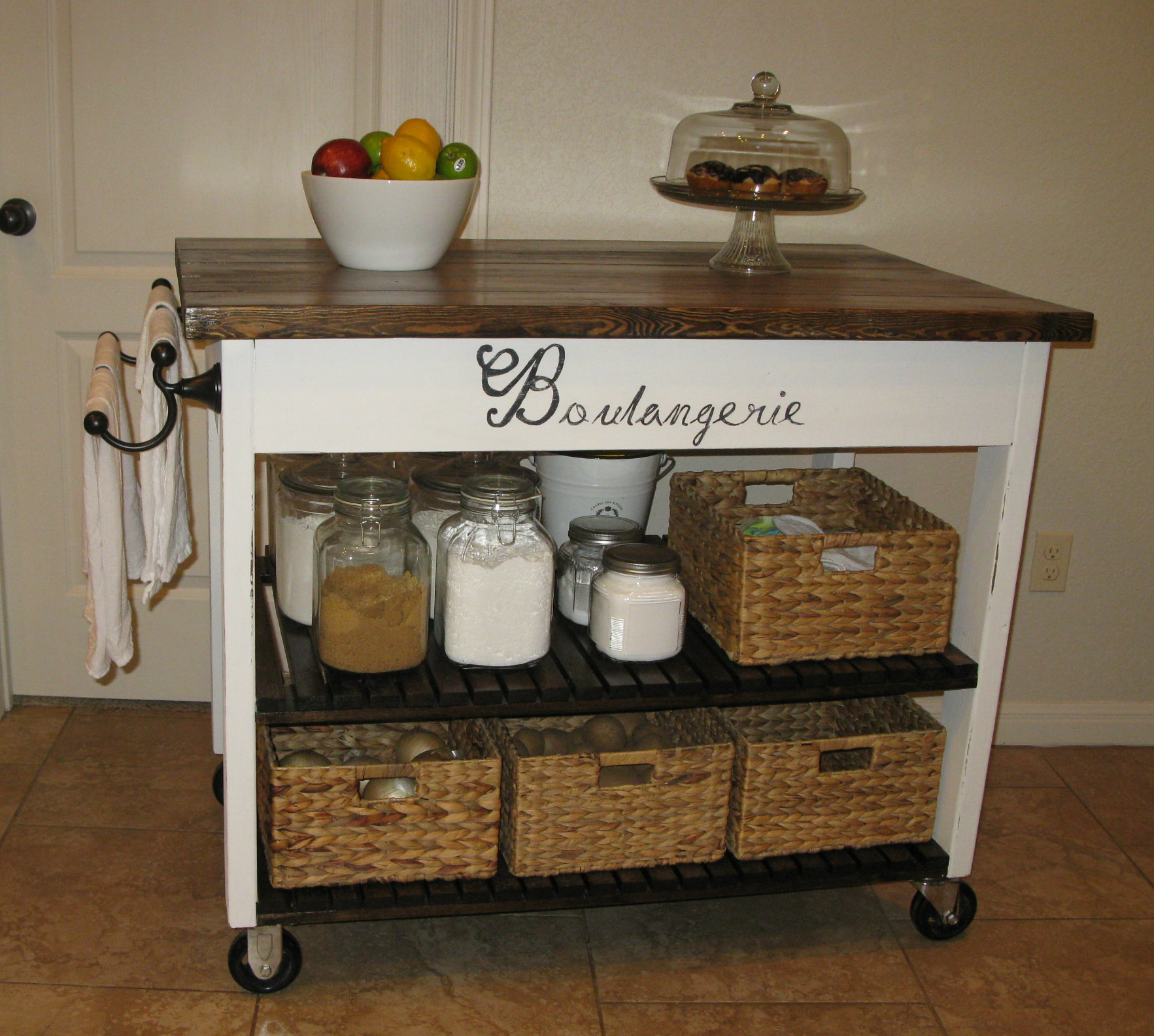 Best ideas about Kitchen Cart DIY . Save or Pin Ana White Now.