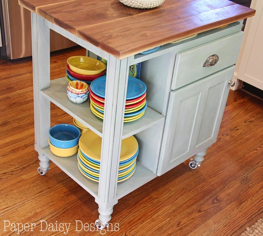 Best ideas about Kitchen Cart DIY . Save or Pin DIY Kitchen Island Cart Now.