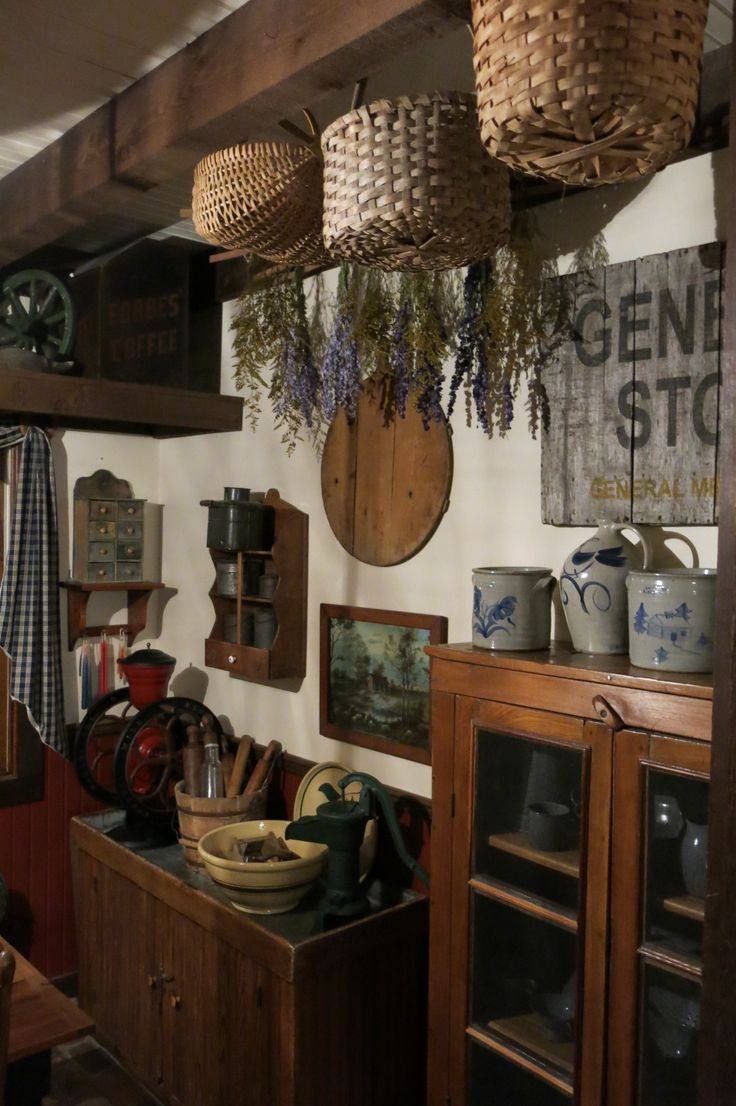 Best ideas about Kitchen Decor Store . Save or Pin 17 Best images about Primitive Baskets and Boxes on Now.