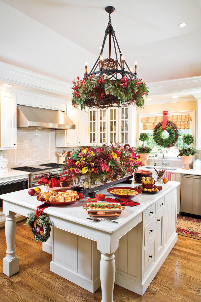 Best ideas about Kitchen Decor Store . Save or Pin Our Favorite Christmas Kitchens Southern Living Now.