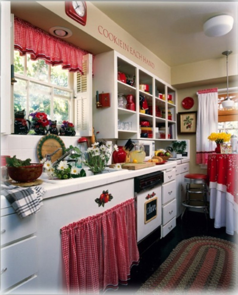 Best ideas about Kitchen Decor Theme Ideas . Save or Pin Interior And Decorating Idea For Red Kitchen Themes Now.