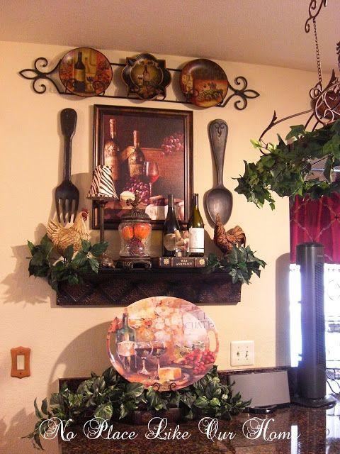 Best ideas about Kitchen Decor Theme Ideas . Save or Pin 25 best ideas about Tuscan Kitchen Decor on Pinterest Now.