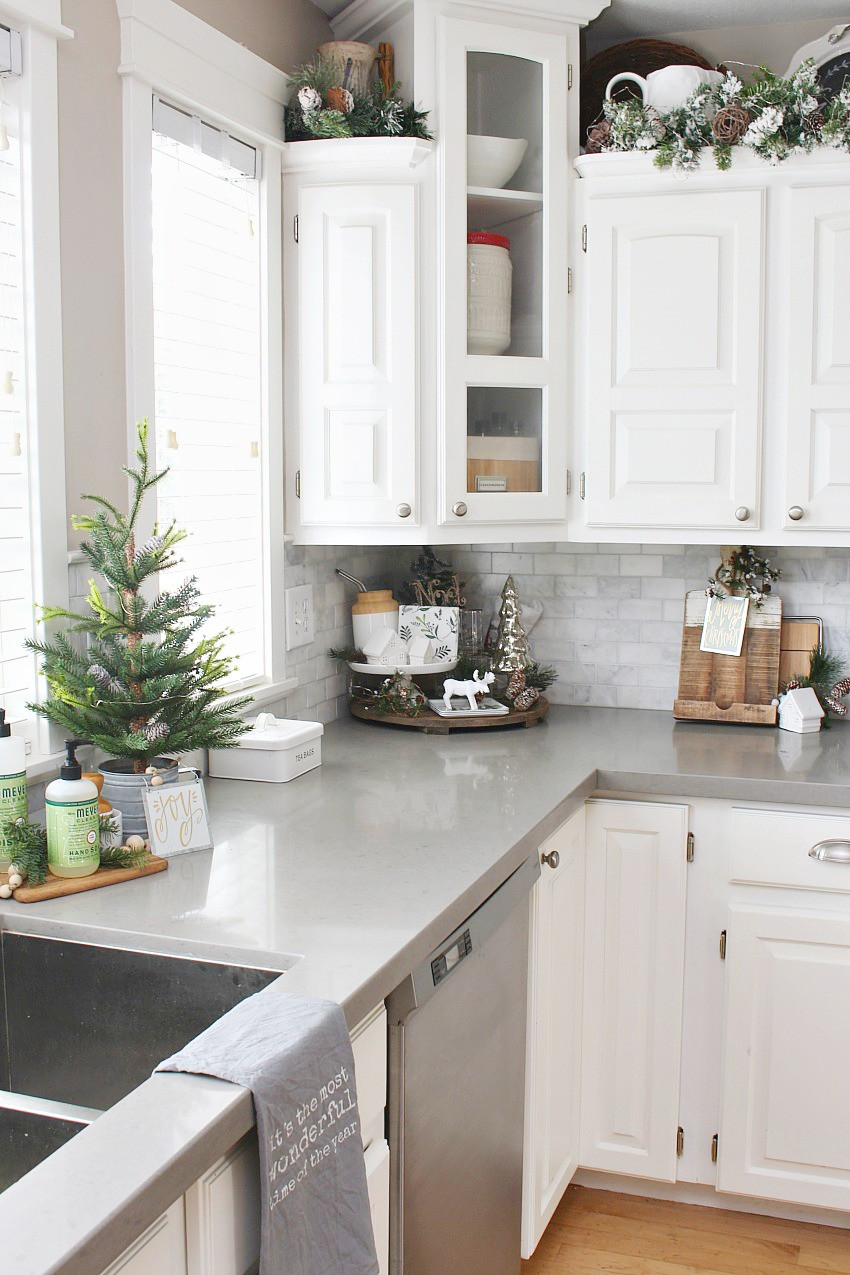 Best ideas about Kitchen Decorating Ideas . Save or Pin Christmas Kitchen Decorating Ideas Clean and Scentsible Now.