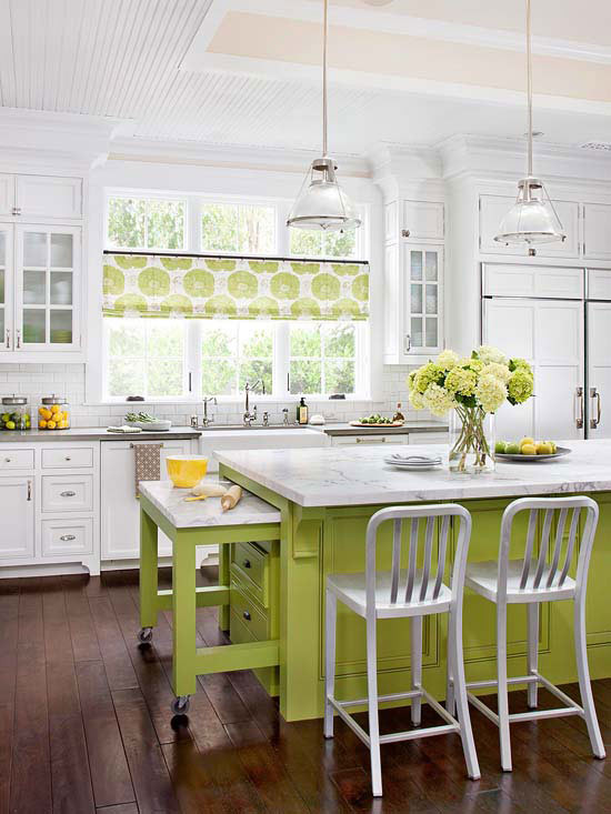 Best ideas about Kitchen Decorating Ideas . Save or Pin Modern Furniture 2013 White Kitchen Decorating Ideas from BHG Now.