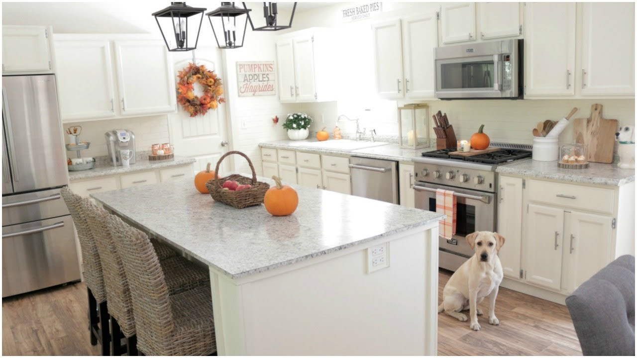 Best ideas about Kitchen Decorating Ideas . Save or Pin Fall Decorating Ideas My Fall Kitchen Decor Now.