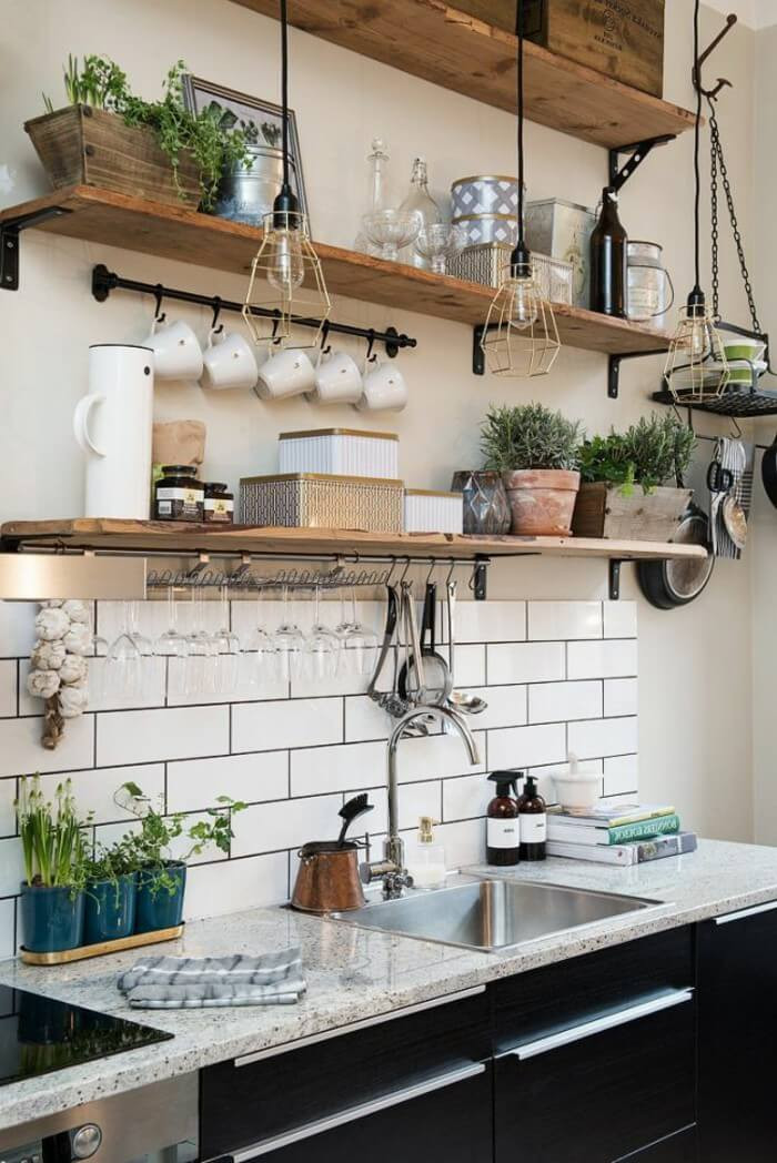 Best ideas about Kitchen Decorating Ideas . Save or Pin 23 Best Cottage Kitchen Decorating Ideas and Designs for 2019 Now.