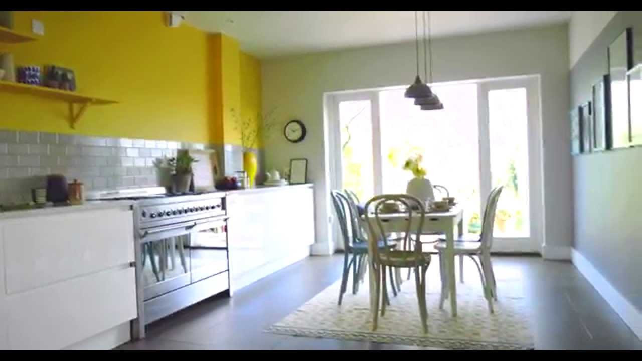 Best ideas about Kitchen Ideas Colours . Save or Pin Kitchen Ideas Create a Yellow & Grey Colour Scheme with Now.