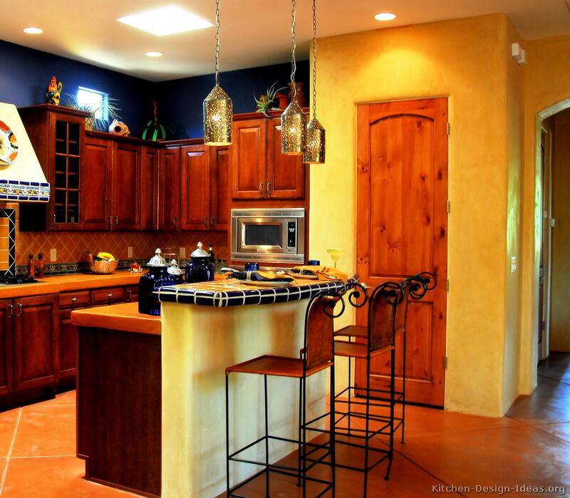 Best ideas about Kitchen Ideas Colours . Save or Pin Mexican Kitchen Design and Decorating Ideas Now.